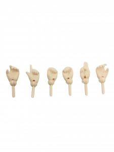 Mains Obitsu white 27cm par 6